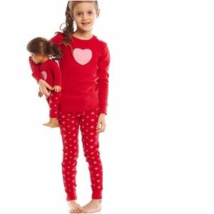 Leveret Pjs and matching doll set - girl